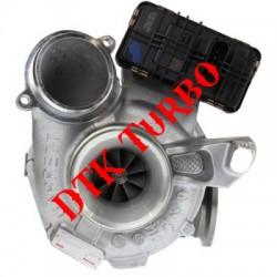 BMW X3 30 dx (F25) turbófeltöltő