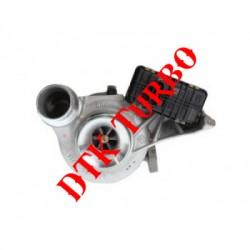 BMW 520 d (F07 / F10 / F11) turbófeltöltő