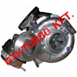 BMW X3 2.0 d (E83/E83N) turbófeltöltő
