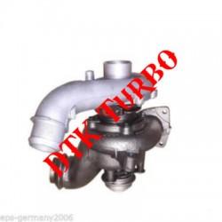 Peugeot 406 2.2 HDi FAP turbófeltöltő