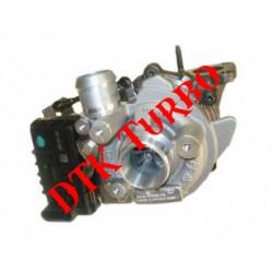 Citroen C 5 3.0 V6 HDi FAP turbófeltöltő