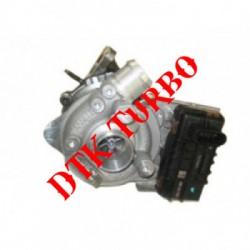 Citroen C 6 3.0 V6 HDi FAP turbófeltöltő