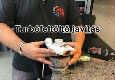 Turbófeltöltő javítás